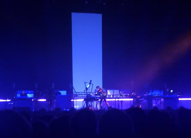 Jean-Michel Jarre am 4. November 2011 in Dortmund