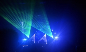 The Australian Pink Floyd Show am 19. April 2012 in Bielefeld